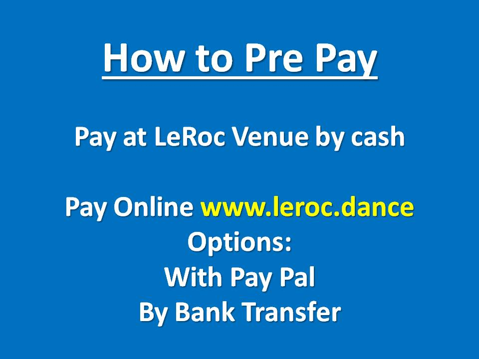 How to Pre Pay
